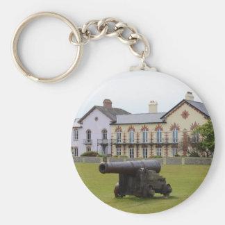 Tudor Rose Cannon Key Ring