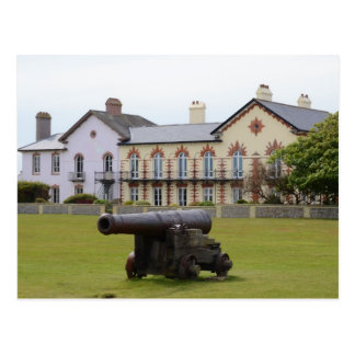 Tudor Rose Cannon Postcard