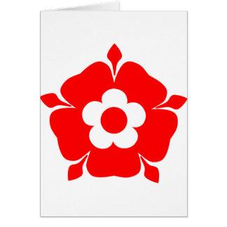 Tudor Rose. Card