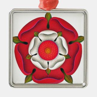Tudor Rose Metal Ornament