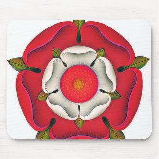 Tudor Rose Mouse Pads