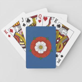 Tudor Rose Poker Deck