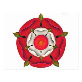 Tudor Rose Postcard