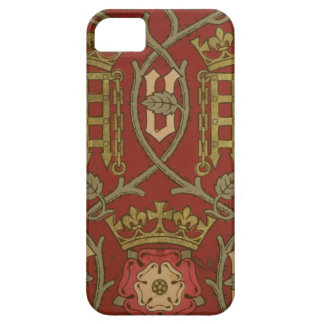 Tudor Rose reproduction wallpaper designed by S iPhone 5 Covers
