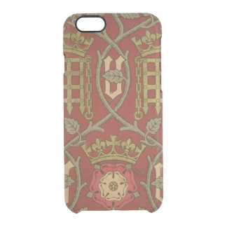 'Tudor Rose', reproduction wallpaper designed by S Clear iPhone 6/6S Case
