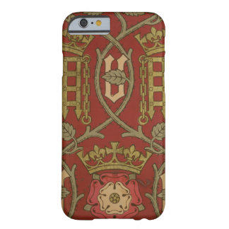 Tudor Rose reproduction wallpaper designed by S iPhone 6 Case