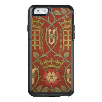 'Tudor Rose', reproduction wallpaper designed by S OtterBox iPhone 6/6s Case