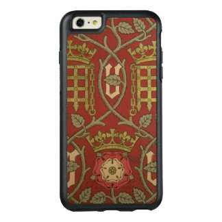 'Tudor Rose', reproduction wallpaper designed by S OtterBox iPhone 6/6s Plus Case