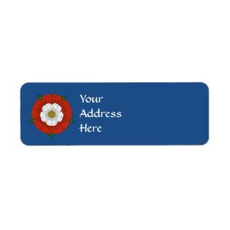 Tudor Rose Return Address Labels