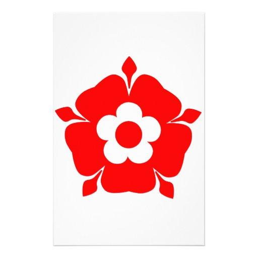 Tudor Rose. Customized Stationery