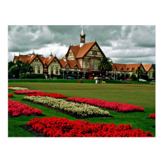 Tudor Towers Government Gardens, Rotorua Postcard