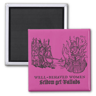 Tudor Trouble and Strife Magnet