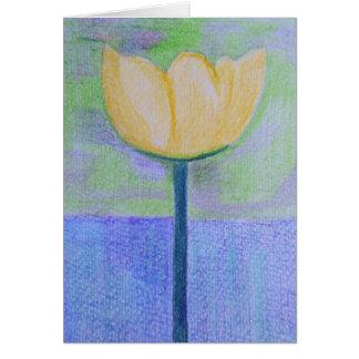 Tuesday's Tulip Card