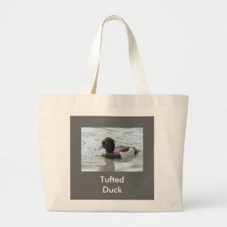 Tufted Duck Jumbo Tote Bag