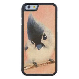 Tufted Titmouse Maple iPhone 6 Bumper Case