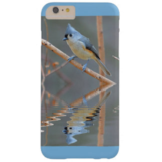 Tufted Titmouse With Reflection Barely There iPhone 6 Plus Case