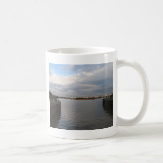Tug And Barges On The Thames Mugs
