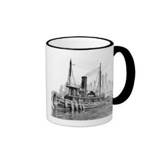 Tug and Skyline Mug