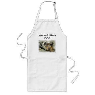 Tug at Heart Corgi Terrier Mix Dog Long Apron