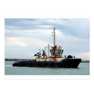 Tug boat 2, Port Adelaide, South Australia Postcard
