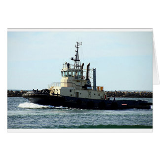 Tug boat 4 greeting cards