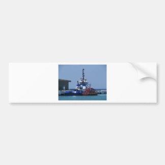 Tug Boat And Pilot Boat Bumper Sticker