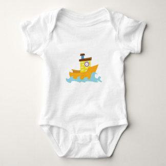 Tug Boat Baby Bodysuit