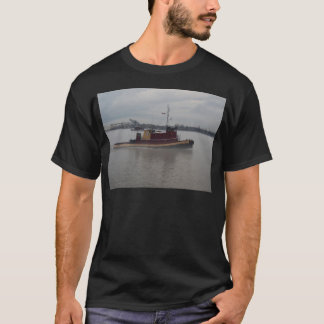 Tug Boat in the Fog T-Shirt