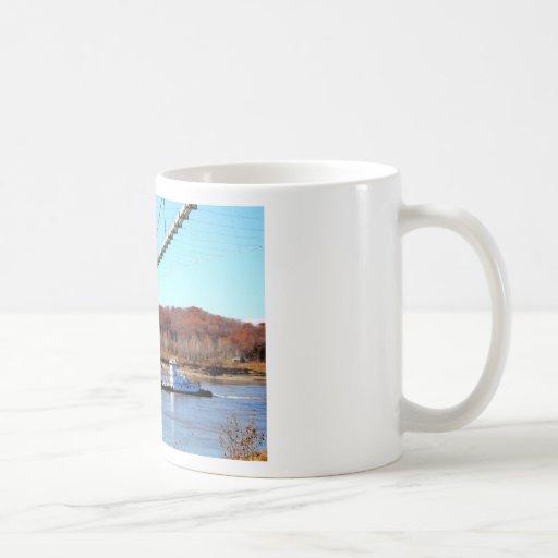 Tug boat coffee mugs