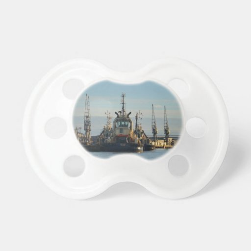 Tug Boat On The Medway Baby Pacifiers