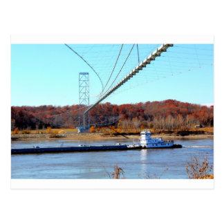 Tug boat postcard