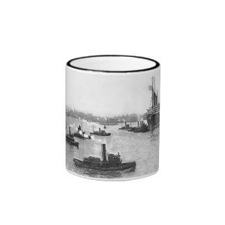Tug Flotilla Coffee Mugs