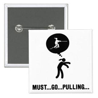Tug of War Pinback Button