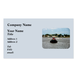 Tugboat Bow Norfolk VA Business Card