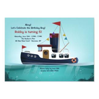Tugboat Invitation