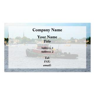 Tugboat Norfolk Virginia Business Card Template
