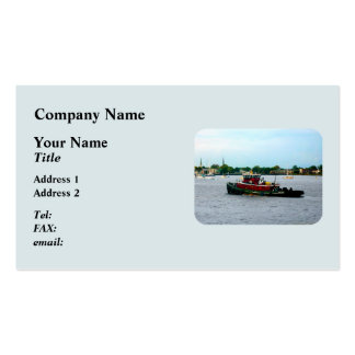 Tugboat Norfolk Virginia Business Card Template