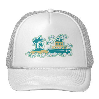 Tugboat T-shirts and Gifts Mesh Hat