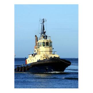 Tugboat Tingari, Australia Postcard