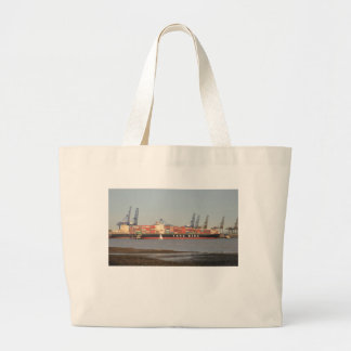 Tugs Assisting Ship Tote Bags
