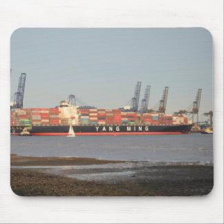 Tugs Assisting Ship Mousepads