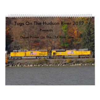 Tugs On The Hudson River 2017 Calendar