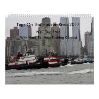 Tugs On The Hudson River 2017 Calendars