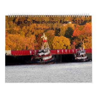 Tugs On The Hudson River 2017 Calendars