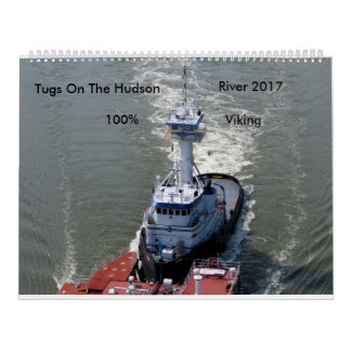 Tugs On The Hudson River 2017 Wall Calendar