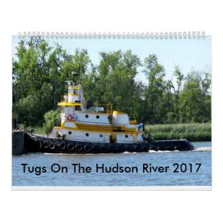 Tugs On The Hudson River 2017 Wall Calendars