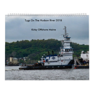 Tugs On The Hudson River---Kirby Offshore 2018 Calendar