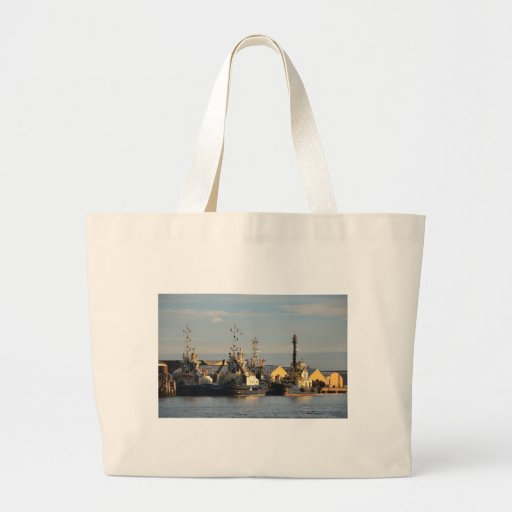 Tugs on the Swale. Canvas Bag
