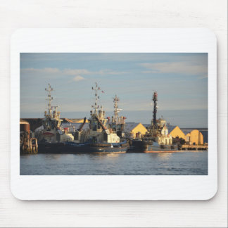 Tugs on the Swale. Mouse Mat