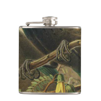 Tui Semi-Abstract Flask